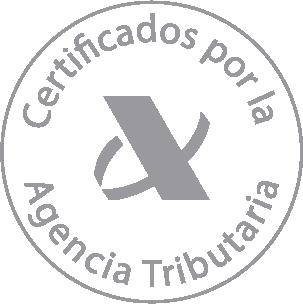 Certificados por la Agencia Tributaria