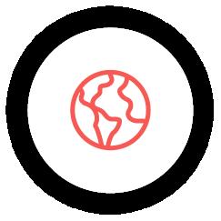 icon Alcance global